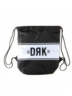 DRK GYM SACK BAG BLACK