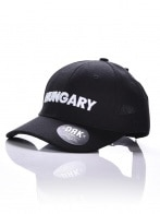 CURVED DRK HUNGARY SRTAPBACK BLACK