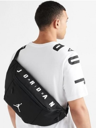 OVERSIZED AIR JORDAN CROSSBODY
