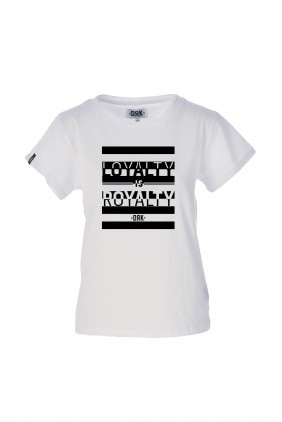 DRK x LOYALTY IS ROYALTY T-SHIRT WOMEN